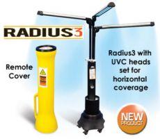 Radius3 - sterilizare cu UV pentru suprafete